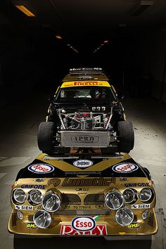 Lancia Delta S4 rally car - Group B
