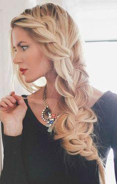 Extremely Loose Blonde Braid