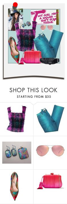 """""""Scarred"""" by scope-stilettos ❤ liked on Polyvore featuring Polaroid, Givenchy, Ralph Lauren, Roberto Cavalli, Oliver Peoples, Vivienne Westwood, Serpui and Lanvin"""