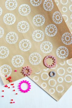 DIY: iron-on bead stamps