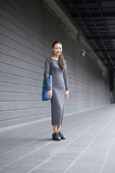 SHENTONISTA: Light In The Dark. Sha, Sales. Dress from H&M, Shoes from Nike, Bag from Hershel, Earrings from Lovisa. #shentonista #theuniform #singapore #fashion #streetystyle #style #ootd #sgootd #ootdsg #wiwt #popular #people #male #female #womenswear #menswear #sgstyle #cbd #HM #Nike #Hershel #Lovisa