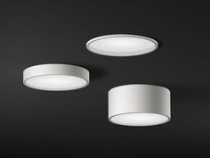 Ceiling lamp PLUS 0630 Plus Collection by Vibia Outdoor Ceiling Lights, Kitchen Ceiling Lights, Recessed Ceiling, Ceiling Fixtures, Light Fixtures, Ceiling Lamps, Bedroom Lighting, Home Lighting, Rustic Kitchen Lighting