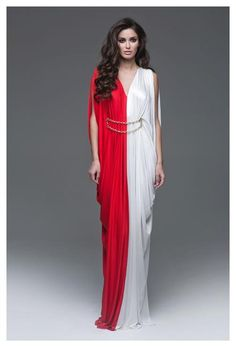 What a priestess of R'hllor would wear in the Temple of the Lord of Light in Volantis.      Ester Abner, Fall 2013
