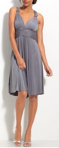 Beautiful #twobirds convertible jersey dress - 40% off - 5 colors, all sizes - tie it 15 different ways - perfect #bridesmaid dress! http://rstyle.me/n/kusfrnyg6