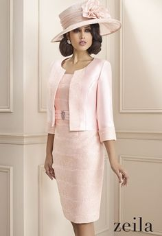 photo of ladies formal daywear design 03 detail by Zeila
