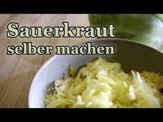 Sauerkraut selber machen - genaue Anleitung! - YouTube
