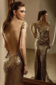 Love of gold....gorgeous back!