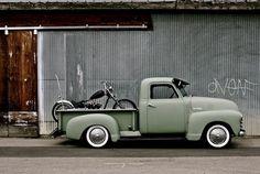 Chevy work truck