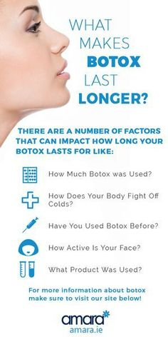 what makes botox last longer