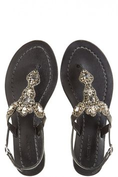 51399b599ddc5 Antik Batik (c o Calypso St barth) Akia Rhinestone Embellished Sandal -  black