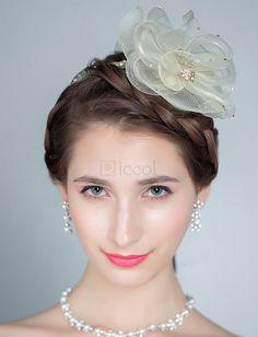 ❀ Floral Headband Bridal Tiara | Riccol ❤