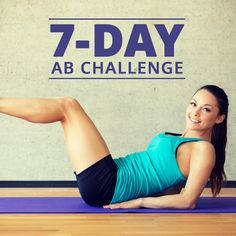 The 7-Day Ab Challenge is an intense program that tones and burns fat. Find this and similar workouts for women on SkinnyMs.com!