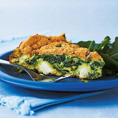 This super-fluffy omelette is an easy dinner option when paired with a leafy salad. Though it might seem fussy to beat the whites separately, it's well worth the effort. Yummy Egg Recipes, Vegetarian Brunch Recipes, Best Breakfast Recipes, Vegetarian Cooking, Veggie Recipes, Breakfast Ideas, Amazing Recipes, Asian Recipes, Recipes