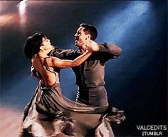 """Dancing With the Stars - Val Chmerkovskiy & Rumer Willis waltzed to Adele's """"Turning Tables"""" - Season 20 - Week 4 - Spring 2015 - score - 9+8+9+9 = 35"""