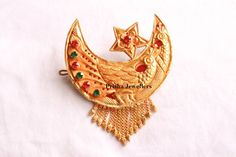 24 Carat Traditional Chandrama Hair Clip