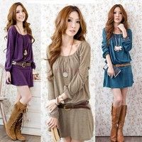 Net Weight: 183g 4 Colorsavailable: Purple, Pink, Dark Blue, Khaki Material: Cotton Blend SleeveStyl