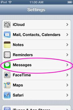 How to restrict iMessage on an iPod touch or iPad.