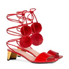 Eel wrap sandal - Gucci