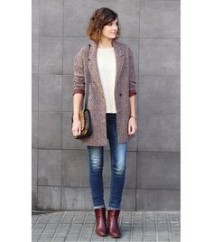Take Cues From French-Girl Style for Your Winter Fashion Fall Winter Outfits, Autumn Winter Fashion, Mode Style, Style Me, Paris Fashion, Love Fashion, Style Parisienne, Casual Chique, French Girl Style