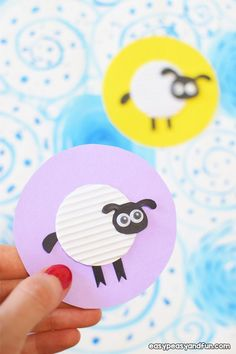 Easy Sheep Craft for Kids Sheep Crafts, Fun Crafts, Paper Crafts, Easter Arts And Crafts, Animal Crafts For Kids, Recycled Crafts, Business For Kids, Babysitting, Activities For Kids
