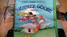 Mother Goose soft book - $20. (LMH)