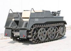 NSU Kettenkrad HK 101: k mání je Hitlerův minitank, za tři miliony - 4 -