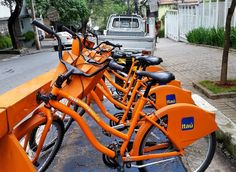 Cheap bicycle hire in São Paulo - Itaú bicycles