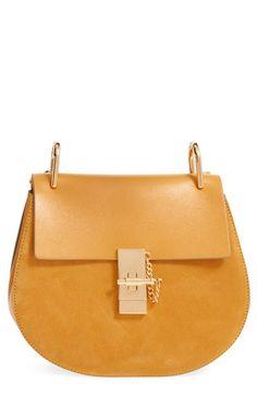 best chloe replica handbags - Chlo�� - Drew leather shoulder bag - Let this charming marshmallow ...