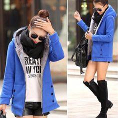 2016 Autumn Winter Women Hoodies cotton mixed Zip-up zipper Solid Full-Sleeve Hooded Casual Hoodies Sweatshirts Plus Size M-3XL