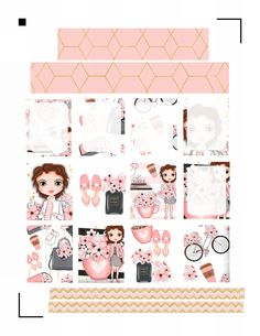 Girly Free Planner Printable