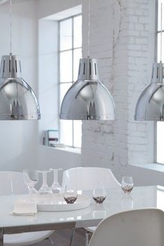 dettagli su nuova lampada a sospensione design metallo cromato lampadario moderno 49698