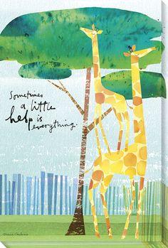 Help is Everything Giraffes