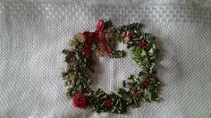 Corona de navidad. homelinengt.com