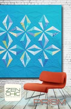 Prism #zenchic modern #quiltpattern now available as an instant PDF-Download here https://zenchic.dpdcart.com/cart/add?product_id=72393&method_id=74969