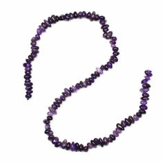 These sumptuous Amethyst Small Nuggets are perfect for adding accents of colour and texture to your jewellery creations; a truly versatile strand!