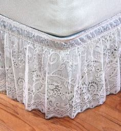 Lace Bed Skirts Dust Ruffles | Lace Dust Ruffle | Shop kids,parenting, family | Kaboodle
