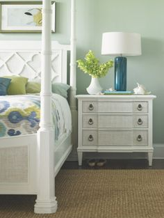 Time to brighten it up!! :)  Tommy Bahama Home Ivory Key Tuckers Point Bachelors Chest at retail in early 2013.