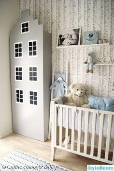 #nursery #kid room #baby room Gave me a great idea for a dresser!