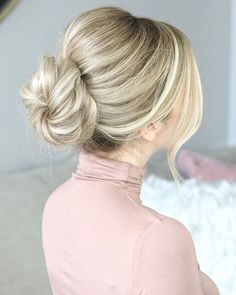 Easy Bun, Perfect Valentine's Day Hair Tutorial