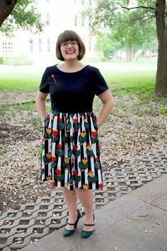 Emery Dress pattern by Christine Haynes