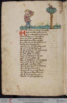 Cod. Pal. germ. 794: [Ulrich] Boner: Edelstein (Schwaben (Oberrhein?), um 1410/1420), Fol 75v