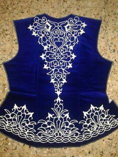 Algerian embroidered vest