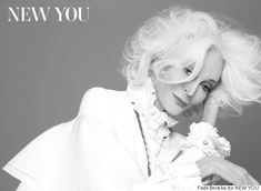 83-Year-Old Supermodel Carmen Dell'Orefice On Scoring Another Gorgeous Cover: 'I Stood Up For Age'