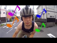 「ロードバイク」で安全に音楽が聴ける時代がやってきた! - YouTube
