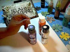 Homemade Glimmer Mist Tips!