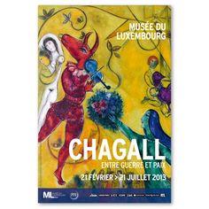 Chagall entre guerre et paix. @Musée du Luxembourg