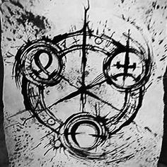 Six's drawing, which is actually Nine's talisman.