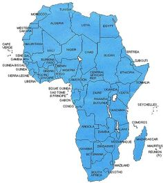 Lesson Plan - the 53 Nations of Africa