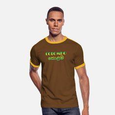 Colombo Sri Lanka - Singhalesisch Männer Retro-T-Shirt Baseball T Shirts, Sport T-shirts, T Shirt Sport, Sweat Shirt, Style Année 60, Geile T-shirts, Beau T-shirt, Text Design, Pullover