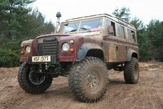 Portal-axled Land Rover Series III